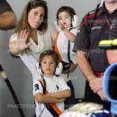 Rubens Barrichello and Silvana Barrichello
