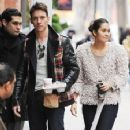 Jonathan Rhys Meyers in New York City