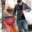 Jessica Simpson Braves the Rain for Some Boneyard Bistro