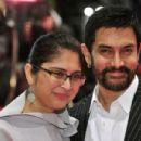 Aamir Khan and Kiran Rao at 61st Berlin Film Festival - Award Ceremony