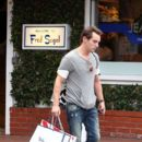 Jonathan Rhys Meyers Shopping At Fred Segal