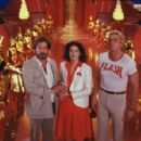 Topol as Dr. Hans Zarkov, Melody Anderson as Dale Arden and Sam J. Jones as Flash Gordon in Universal Pictures' Flash Gordon.