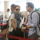Olivia Wilde and Jason Sudeikis Leave LA