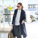 Alicia Vikander – JFK Airport in New York October 28, 2017