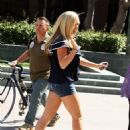 Kendra Wilkinson - Arriving At A Studio In Los Angeles - July 9, 2010