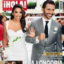 Eva Longoria, Jose Antonio Baston - Hola! Magazine Cover [Peru] (8 June 2016)