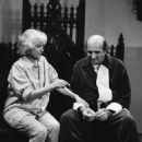 Bea Arthur and Herb Edelman