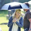 Anna Faris Filming 'Overboard' set in Vancouver  - 454 x 681