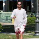 Scott Disick  out running errands in Calabasas, California on August 2, 2016 - 437 x 600
