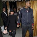 Khloe Kardashian and her boyfriend Triston Thompson at 'The Nice Guy' bar in West Hollywood