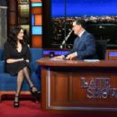 Rachel Weisz – On The Late Show with Stephen Colbert in New York City