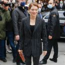 Lea Seydoux – arrives at the Louis Vuitton fashion show in Paris - 454 x 681