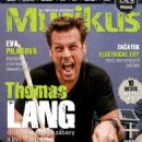 Thomas Lang (singer) - Muzikus Magazine Cover [Czech Republic] (March 2013)