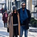 Abigail Spencer with her new boyfriend – Out in Paris - 454 x 705