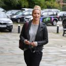 Gemma Atkinson – Arriving at Hits Radio in Manchester - 454 x 760