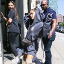 Ariana Grande with friends out in NYC