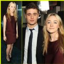 "Max irons And Saoirse Ronan at the Premiere Of Open Road Films ""The Host"" 2013"