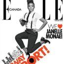 Janelle Monae Elle Canada February 2013