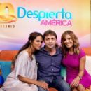 Halle Berry on Despierta America in New York - 454 x 321