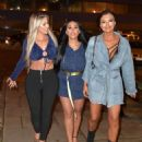 Sophie Kasaei, Holly Hagan and Abbie Holborn – Night out in Newcastle - 454 x 555