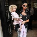 Katie Price's Day Out With Princess Tiaamii
