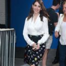 Alison Brie Visits Good Morning America In Nyc