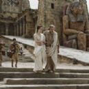 Rachel Weisz ('Hypatia,' center left) and Michael Lonsdale ('Theon,' center right) star in Lionsgate Home Entertainment's Agora. - 454 x 303