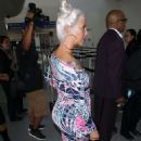 Amber Rose – Arrives at LAX Airport in LA