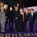 Genevieve Potgieter and other celebrities attend the World Premiere of 'Bohemian Rhapsody' at The SSE Arena, Wembley, on October 23, 2018 in London, England - 454 x 302