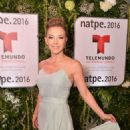 Laura Flores- Telemundo NATPE Party Red Carpet Arrivals - 454 x 807