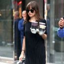 Dakota Johnson – Out for Coffee in New York
