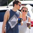 Hilary Duff – Pregnant at Gym In Studio City