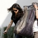Salma Hayek - Leaves Alexander McQueen Showroom In Beverly Hills, 20. 3. 3009.