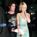Brandon Davis and Paris Hilton