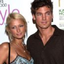 Jason Shaw and Paris Hilton