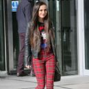 Cher Lloyd – Promoting her new single at BBC Radio Studios in London