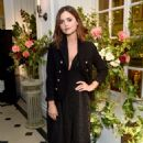 Jenna Coleman at My Burberry Black Launch Event in London 08/22/2016