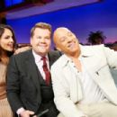 Eiza Gonzalez and Vin Diesel – The Late Late Show with James Corden in LA - 454 x 303