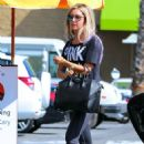 Ashley Tisdale At Coral Tree Cafe In La