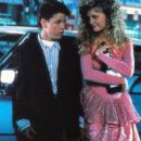 Corey Haim and Heather Graham