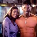Vivica Fox and Jamie Foxx
