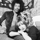 Jimi Hendrix and Kathy Etchingham