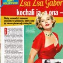 Zsa Zsa Gabor - Nostalgia Magazine Pictorial [Poland] (January 2017)