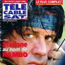 Sylvester Stallone - Télé Cable Satellite Magazine Cover [France] (1 August 2009)