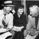 Dan Daily, Betty Lynn & Director Lloyd Bacon