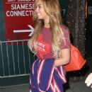 Beyonce Knowles Out In Nyc
