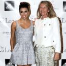 Eva Longoria: at a press conference for the Dynamic Walk-A-Thon in Marbella