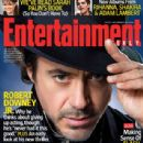 Robert Downey Jr. - Entertainment Weekly Magazine [United States] (27 November 2009)