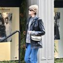 Kaia Gerber – Wearing a Louis Vuitton bag in NYC