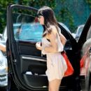 Selma Blair went to lunch at Cheebo restaurant in Hollywood